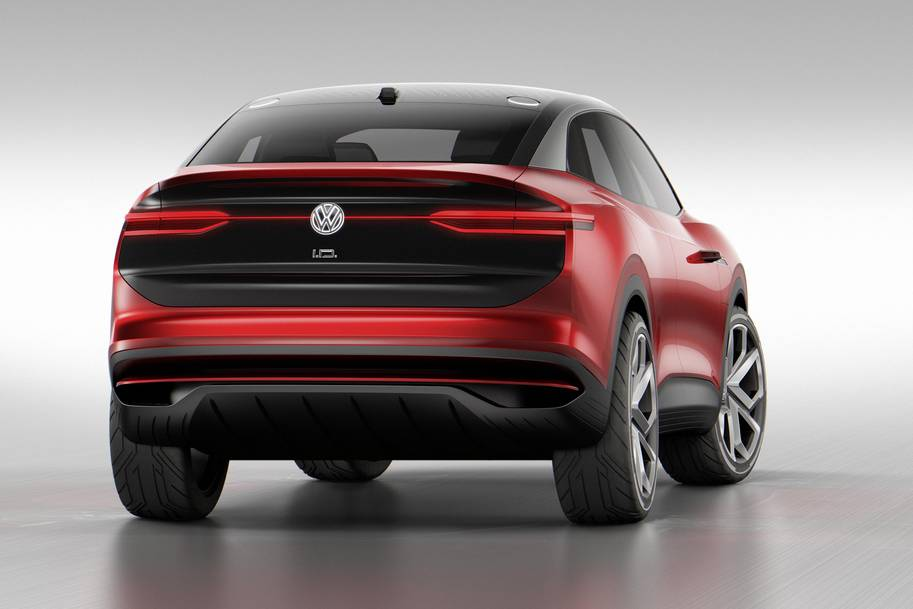 Visionary New Electric Drive Concept Vehicle Volkswagen I D Crozz Ii Is Ed With Tyres From Hankook