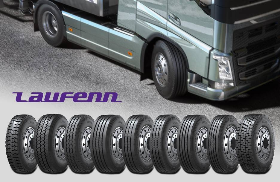 Hankook Tire introduces a new line of truck and bus tyres under its Laufenn Brand