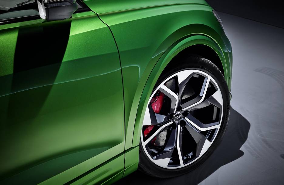 Hankook's UHP summer and winter tyres on Audi RS Q8 as original equipment