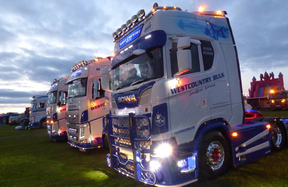 Hankook Tyre UK announces sponsorship of the 2021 Devon Truck Show and Cornwall Truck Gathering