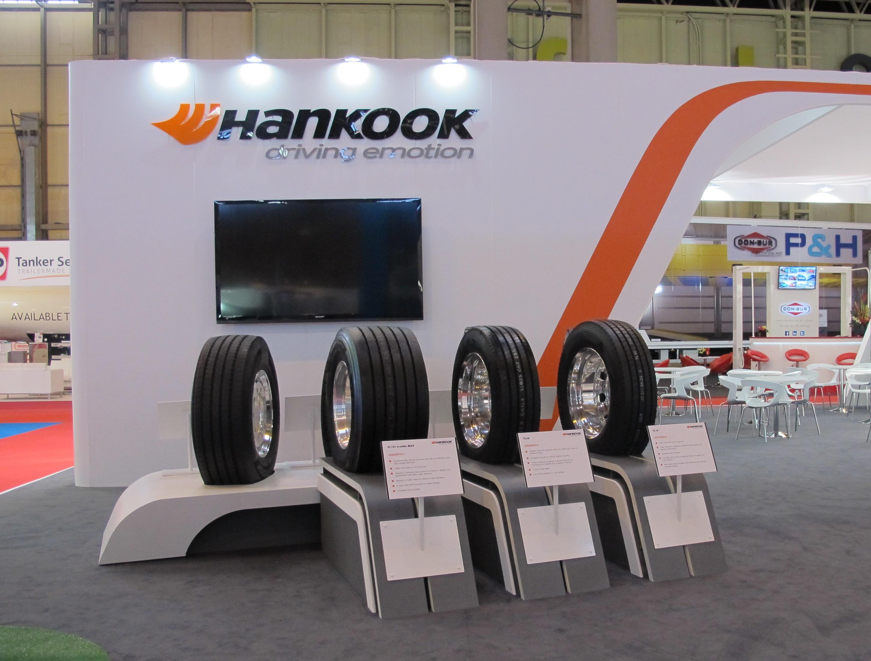 Hankook Tire Media Center Press Room Europe CIS Hankook - Car show wheel stands